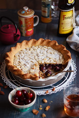 IMG_9530_exp (Helena / Rico sin Azcar) Tags: cherry frangipane tart hazelnut tarta cerezas almendras