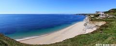 Porthleven Quiet Beach - Summer (Matt Rehm) Tags: summer beach canon cornwall fisheye tokina tranquil porthleven 50d 1017mm