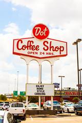 Bob's (Thomas Hawk) Tags: usa america restaurant neon texas unitedstates unitedstatesofamerica houston dot dotcoffeeshop