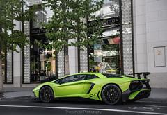 LP750 SV (TheCarhotel) Tags: verde frankfurt ithaca lamborghini sv louisvuitton superveloce aventador lp7504