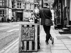 Brunch (kungfuslippers) Tags: standing manchester lunch sony streetphotography brunch a7 dalestreet sonya7 ilce7 sel55f18z