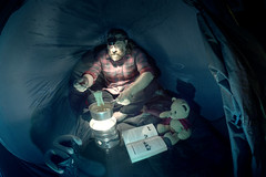 146/366 - cooking by gas (possessed2fisheye) Tags: possessed2fisheye 366 366project 3662016 366project2016 2016 project3662016 selfportrait self creativeselfportrait meandmylittlebuddy cookingwithgas cooking camping thegreatoutdoors
