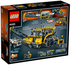 LEGO Technic 42055 back (hello_bricks) Tags: lego technic legotechnic 42054 42053 42055