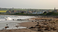 Alnmouth Bay and village (odell_rd) Tags: northumberland alnmouth coth5