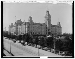 Parliament Buildings, Quebec in 1901. (Static Phil) Tags: canada quebec parliamentbuildings 1901