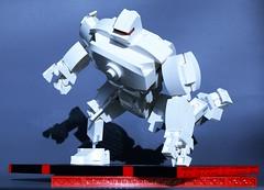 A.W.M - All White Mech (9) (adde51) Tags: white robot all lego mecha mech moc foitsop adde51