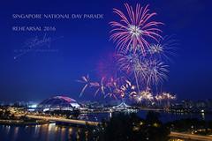 NDP 2016 rehearsal 2nd July(1) (REVIT PHOTO'S) Tags: fireworks alt celebration winner bluehour nationalstadium exploresingapore singaporetourismboard singaporesportshub singaporenationalday2016 ndp2016