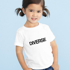 diverse t-shirt (rethinkthingsltd) Tags: baby white smart children design kid diverse adult unique free tshirt parry pride southern lgbt statement strong local northern fit typographic able ilsa rethinkthings