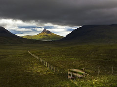 the gate... (Dove*) Tags: stac pollaidh northwestscotland