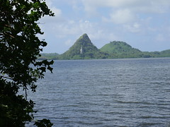 This is how green Pohnpei is.