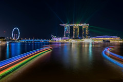 Colours of the Night (kenntcl) Tags: nikon singapore nightscape d810 marinabaysands 1424mm