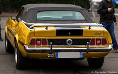 1971 Ford Mustang Convertible (Alexandre D_) Tags: classic ford canon eos 85mm convertible mustang manualfocus musclecar cabriolet pasdecalais heninbeaumont 85mmf14 manuallens samyang 70d rokinon worldcars
