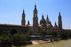 Pilar Catholic Church (HDH.Lucas) Tags: church pilar river spain catholic lucas zaragoza