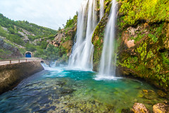 Waterfall (Syka-MTB) Tags: nature water river waterfall croatia source knin krka kri