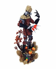 The Scarecrow (Tim Lydy) Tags: lego scarecrow batman forms gotham 2016 brickworld