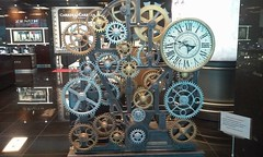 Cog wheels and clocks (eltpics) Tags: sculpture industry technology time wheels cogs clocks eltpics