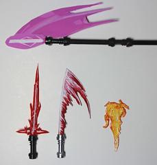 Elemental Weapons #1 - 500 Instagram Followers! (TheCampervanTom) Tags: star artwork lego lightsaber wars custom elemental