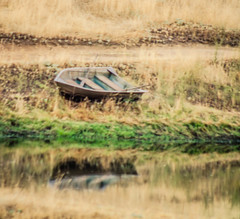 Distant Reflection (bobparman913) Tags: reflection boat nikon