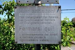 Sabo Oil - Shunting Area (Kecko) Tags: railroad industry sign geotagged schweiz switzerland suisse swiss tracks kecko ostschweiz eisenbahn railway sbb horn svizzera bahn tg warnung 2016 shunting thurgau rangieren swissphoto industriegleis geo:lat=47496320 geo:lon=9453240