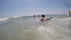 G0242475 (Tom Simpson) Tags: ocean beach maddie newjersey nj madeline jerseyshore boogieboard avonbythesea