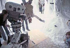 Filming Mark Hamill in the Wampa Cave (Tom Simpson) Tags: starwars cave lukeskywalker behindthescenes hoth markhamill wampa theempirestrikesback