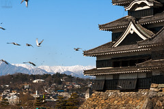 Matsumoto Jo (Andy Keys) Tags: travel mountains castle history japan jo matsumoto honshu