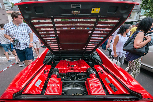 Ferrari F355 GTS - 18. International Sport car festival 2016 in Velden am Wörthersee