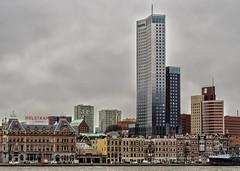 Rotterdam (Marlies van Veen) Tags: skyline rotterdam architectuur oldnew