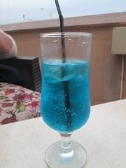 Malta Blue Lagoon Drink Melieha (Bridgemarker Tim) Tags: blue food ice drink straws lagoons