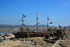 Black Pearl New Brighton (jonnywalker) Tags: sea beach liverpool coast seaside ship seafront wirral pirateship newbrighton rivermersey