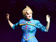 """""""The Cold Never Bothered Me Anyway"""" (chipanddully) Tags: frozen disney dca elsa anthem californiaadventure letitgo hyperiontheater liveatthehyperion"""