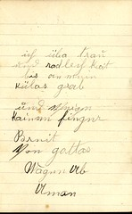 1905_Mar_Rosetta_Weiss_to_Elsie_Binger_4 (Max Kade Institute for German-American Studies) Tags: westphal family familie genealogy middleton handwriting handwritten script cursive letter brief rosettaweiss weiss elsiebinger elsabinger binger elsebinger elsiebuenger elsabuenger elsebuenger buenger kurrent