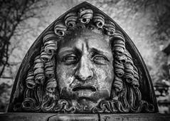 Cimetire du Pre Lachaise, Paris (SMB-PHOTOGRAPHIC) Tags: portrait paris grave sad triste melancholy cimetiere hed tte prelachaise necropole mlancolie