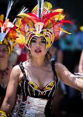 (seua_yai) Tags: sanfrancisco california street people urban woman usa sexy girl beautiful fashion america women pretty dancers candid thecity parade bayarea northamerica missiondistrict streetfashion sanfranciscostreetfashion carnaval2016 sanfrancisco2016
