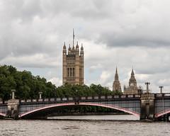 Lambeth Bridge (Tex Texin) Tags: uk bridge london tower clock westminster unitedkingdom bigben palace lambeth