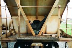dan & lem 2 (beau patrick coulon) Tags: rust kodak 35mmfilm freighttrains canonae1 portra liberation analogphotography runningaway escapism trainhopping turninginward originalphotographers killyourinnercop killyourinnerracists