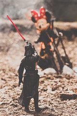 (Kilkennycat) Tags: canon toys fire starwars 50mm14 burn darthvader pyre deadmouse 500d kilkennycat t1i ryanconners byeminnie screwdisney