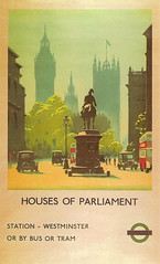 Whitehall (Leonard Bentley) Tags: uk london buses poster housesofparliament taxis metropolitan whitehall palaceofwestminster londontransport victoriatower canonrow cannonrow alkertripp equestrianstatueofthedukeofcambridge