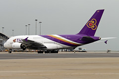HS-TUA Airbus A380-841, Thai Airways International (Flyboy104) Tags: tha tg hstua ahkgap