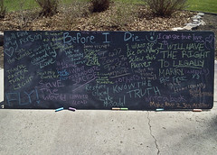 """Before I Die..."" - Board 2 (nfg25) Tags: bucket die before want list dreams wishes todo chalkboard i beforeidie bucketlist nfg25"