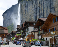 Main Street, Lauterbrunnen, Switzerland (adamw084) Tags: schweiz switzerland waterfall nikon suisse swiss bern lauterbrunnen swissalps d600 nikond600