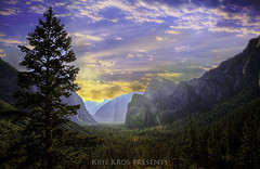 Morning Has Risen in Yosemite (Kris Kros) Tags: photoshop yosemite kris hdr kkg photomatix kros kriskros hdrunleashed