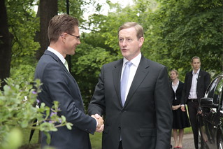 PM Katainen and PM Kenny in Helsinki 7 June 2013