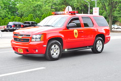 Ossining Fire Department Chief 2331 (Triborough) Tags: chevrolet newjersey gm chief nj tahoe firetruck fireengine firechief montvale bergencounty ossiningfiredepartment chief2331