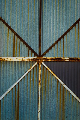 Corrugated Door