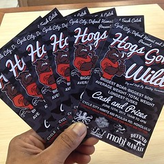 "THIS SATURDAY! Is the HOGS GONE WILD @ Cycle City Nimitz. This is an event the whole family can enjoy! Smoke Meat Cook-offs, Bike Show & more. Contact @hanapaahoundz for more info! or visit defendhawaii.com • <a style=""font-size:0.8em;"" href=""http://www.flickr.com/photos/89357024@N05/9010458015/"" target=""_blank"">View on Flickr</a>"