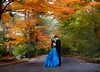 Autumn Wedding (Ilko Allexandroff / イルコ・光の魔術師) Tags: autumn wedding portrait panorama japanese engagement stitch bokeh 日本 setup 関西 ポートレート brenizer strobist イルコ