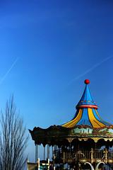 IMG_7031Axx (kanizfotolio) Tags: barcelona park sky mountain children spain europe spanish theme rider tibidabo