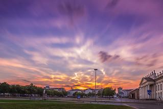 Kassel City Sunset