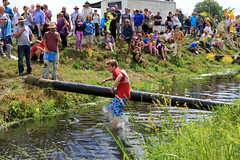 Wacky Raft Racing (lens buddy) Tags: uk england wet somerset rafting raft watersports fancydress summergames langport thorney canoneosdigital sydenhamcameraclub crazyrafting lowlandgames2013